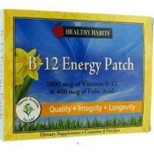 B12 Energy Patches (1-2 Month Supply) - Healthy Habits B-12