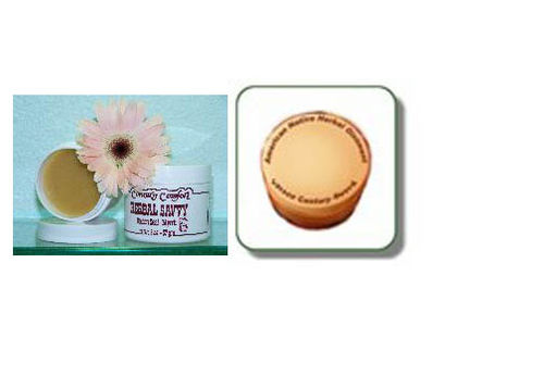 Black Herbal Ointment and Country Comfort Golden Seal_Myrrh Herbal Ointment