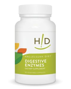 Digestive Enzymes 90 Caplets (H-acres)