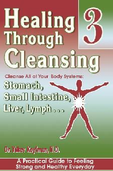 Healing Through Cleansing Cleanse All of your Body Systems: Stomach, Small Intestine, Live, Lymph by Dr. Koyfman