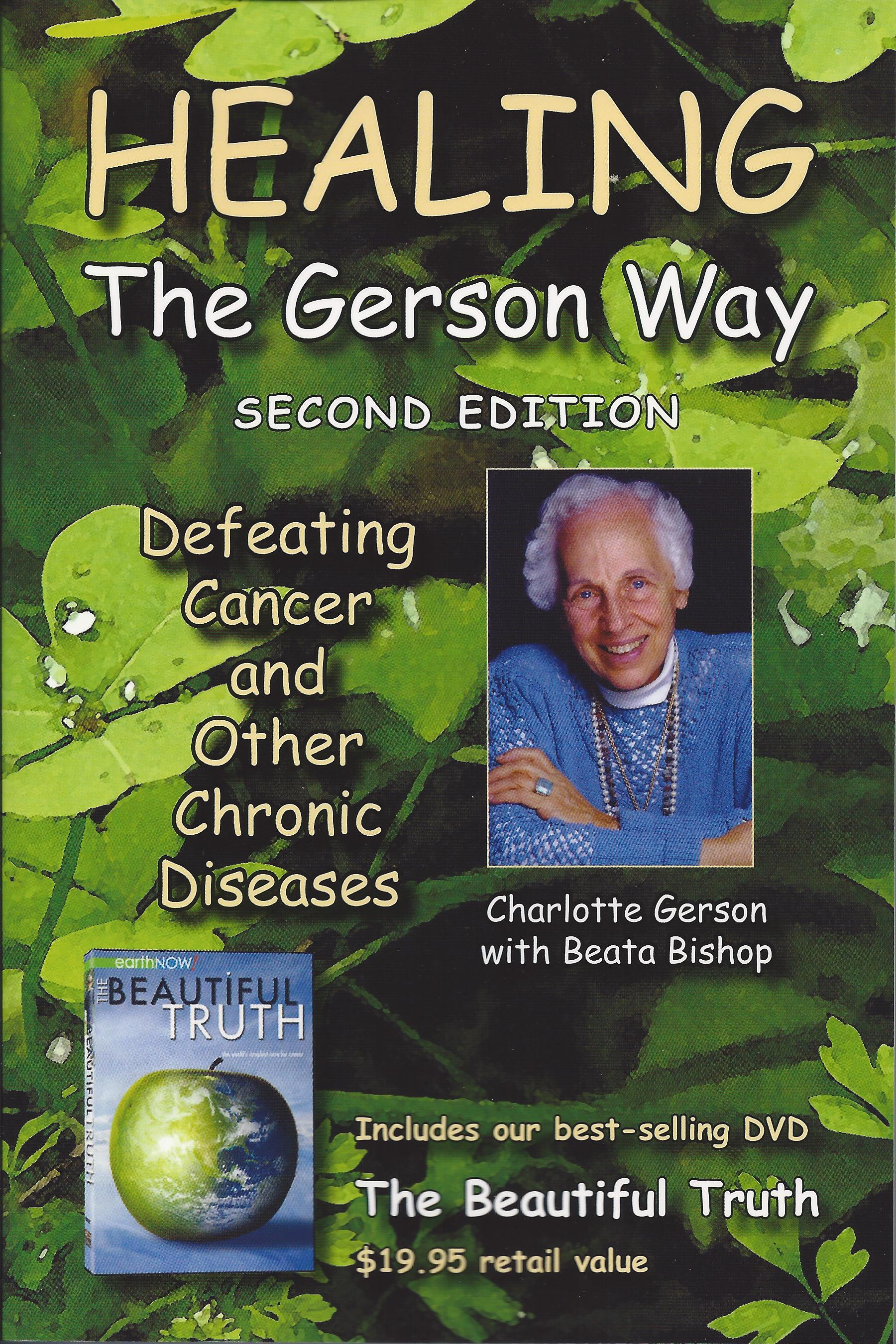 Healing the Gerson Way [BOOK DVD] Books Detoxification