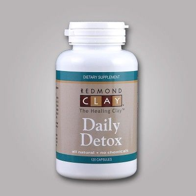 Redmond Clay Daily Detox Capsules