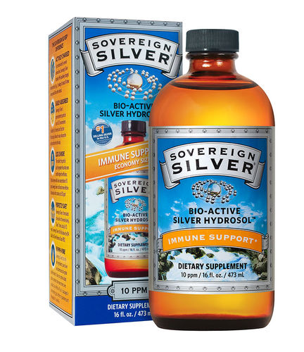 Sovereign Silver (Colloidal) Hydrosol 16oz NO Dropper